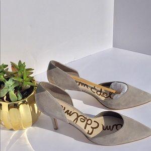 "Sam Edelman ""OPAL"" suede pump/heels"